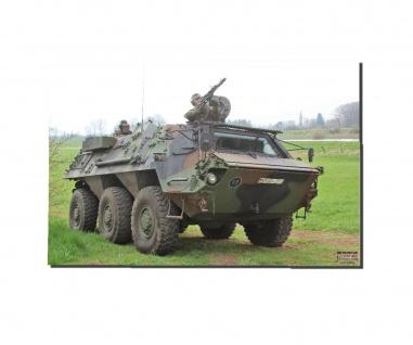 Poster M&N FUCHS Bundeswehr Radpanzer Plakat online TPz ab30x20cm#30260