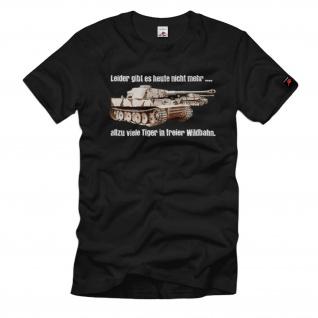 Tiger Panzer in freier Wildbahn Leider gibt es heute nicht mehr viele #11113