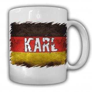 Tasse Karl Kaffebecher Deutschland Bundesländer Becher Personalisiert #22187