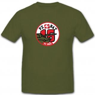 Pzbat 16 Panzerbataillon 16 Schweizer Armee Militär - T Shirt #3736