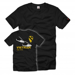 Vietnam 1st Cavalry Division Bell UH-1 Huey T-shirt#36695