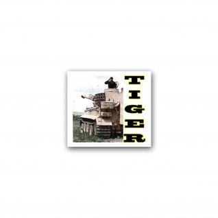 Aufkleber/Sticker Tiger Panzer Deutschland Bundeswehr Miliär 8x7cm A2434