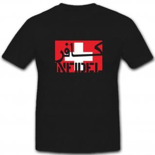 Infidel Schweiz Swiss Infidel- T Shirt #7598