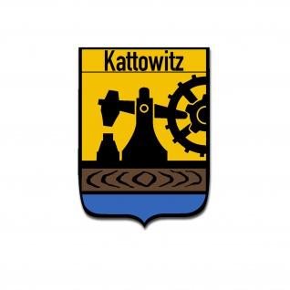 Kattowitz Aufkleber Katowicy Katowice Schlesien Woiwodschaft 7x5cm #A5045
