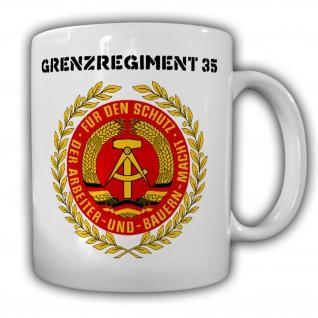Tasse Grenzregiment 35 DDR NVA Deutsche Demokratische Republik Becher #20439