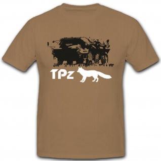 Bundeswehr Heer Militär Einheit Sonderkraftfahrzeug TPz - T Shirt #3612