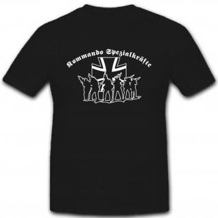 Kommando Spezialkräfte Einheit Bundeswehr KSK Einsatz EK Truppe - T Shirt #2843