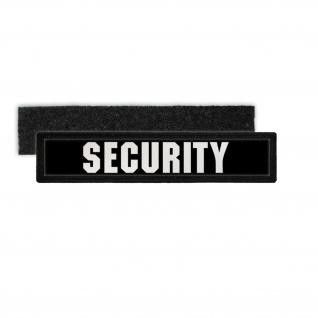 Patch Security Namensschild Sicherheitsdienst Ordner Bodyguard Aufnäher #23783