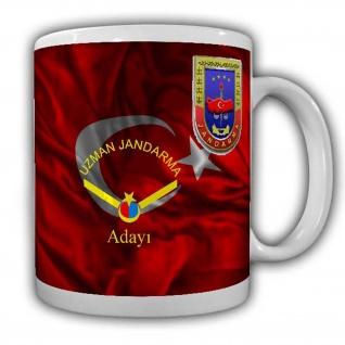 Uzman Janddarma Adayi Tasse Kaffeebecher Militär Türkey Türkei Einheit #22643
