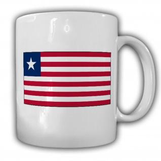 Republik Liberia Flagge Fahne Westafrika Afrika - Kaffee Tasse #13682