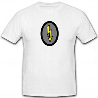 Nachrichtenhelfer Nachrichtenhelferin Wappen Abzeichen Emblem - T Shirt #8696