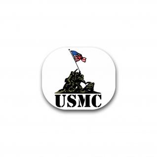 Aufkleber/Sticker USMC United States Marine Corps Marines Marine 8x7cm A1776