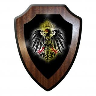 Wappenschild / Wandschild / Wappen - Adler Preußen Deutschland #10041 w