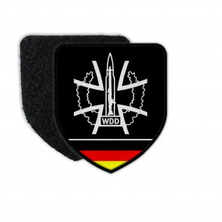 WDD Patch Wappen Logo Wir dienen Deutschland Klett Uniform Aufnäher #26775