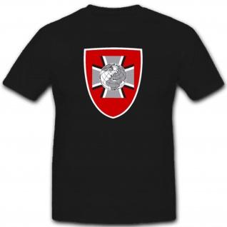 Amt Geoinformationswesen Bundeswehr Abzeichen Wappen Deutschland - T Shirt #3303