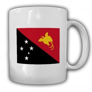 Papua Neuguinea Fahne Flagge Kaffee Becher Tasse #13855