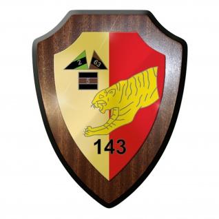 Wappenschild- PzBtl 143 Panzerbataillon Panzer Leo Leopard Bundeswehr #10175 w