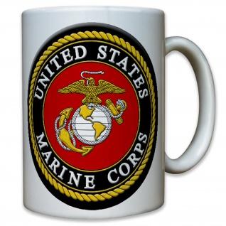 USMC United States Marine Corps USA US Army Militär - Tasse #8111