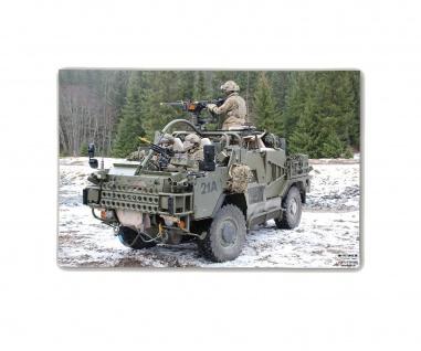 Poster M&N Pictures Jackal British Army MWMIK Foto-Plakat ab30x20cm#30285