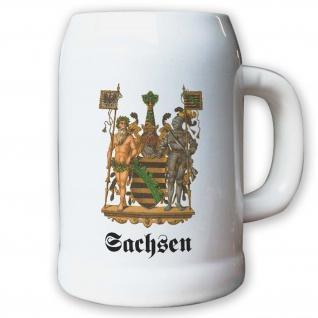 Krug / Bierkrug 0, 5l - Preußische Provinz Sachsen Kaiserreich Deutschland #9484