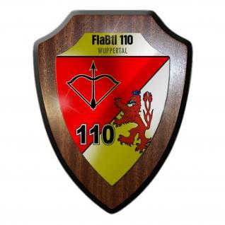 Wappenschild 1 FlaBtl 110 Flugabwehrbataillon Wuppertal Wappen Abzeichen #30192