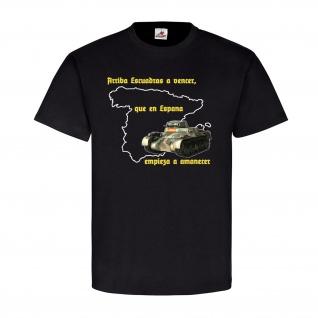 Panzer 1 Spanien arriba escuadras a vencer Condor Legion T Shirt #20150