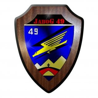 Wappenschild / Wandschild / - JaboG 49 Jagdbombergeschwader Bundeswehr #8373
