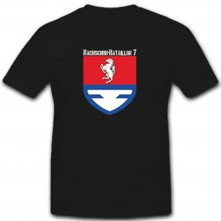 Nachschub-Bataillon 7 Bundeswehr Wappen Militär Emblem Abzeichen- T Shirt #8037