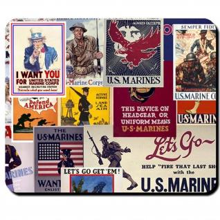 Join US Marines USMC United States Marine Corps Amerika Parade - Mauspad #7817