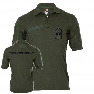 Tactical Poloshirt Alfa Master Gunnery Seargent Dienstgrad Unites States #19041
