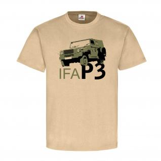 IFA P3 Sachsenring DDR NVA Geländewagen Oldtimer Fan Objekt 37 - T Shirt #18700