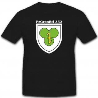 Bundeswehr Panzergrenadierbataillon 322 PzGrenBtl322 Militär T Shirt #3034
