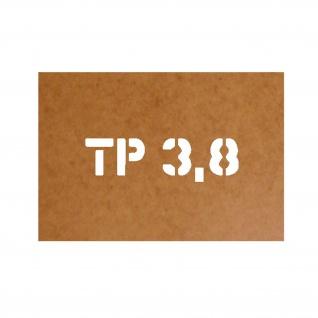 TP 3, 8 Ölkaton Schablonen Army Style Us Militär Lackierschablone #23431