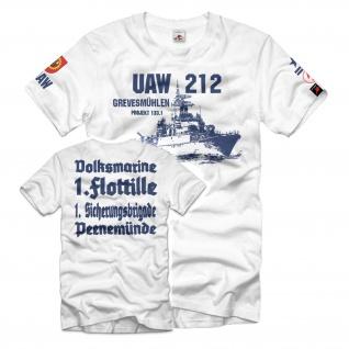 UAW 212 Grevesmühlen Projekt 133 1 UAW Sanitätslaufbahn Funk DDR T-Shirt #34965