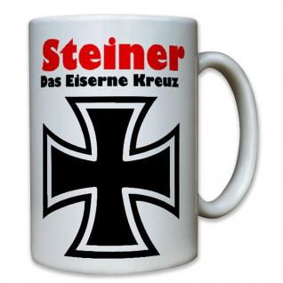 Steiner Das Eiserne Kreuz Kriegsfilm Feldwebel Rolf Orden -Tasse #8073