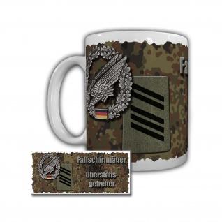 Tasse Fallschirmjäger Oberstabsgefreiter 1 Luftlandedivision Bundeswehr #29470