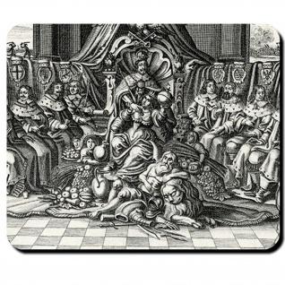 Kaiser und Fürsten Kaiser Ferdinand III Kurfürsten Dreißigjährig Mauspad #16137