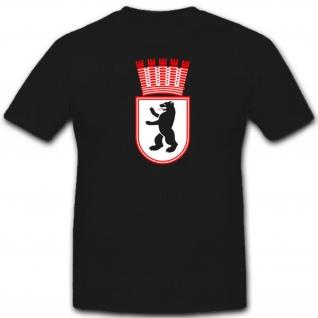 Ost Berlin Wappen-Hauptstadt Bär Abzeichen DDR Deutschland Emblem T Shirt #12277