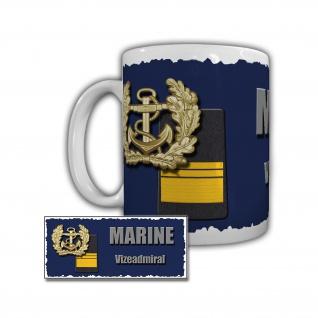 Tasse Marine Vizeadmiral Zerstörer Fletcher-Klasse 119 Bundeswehr #29318