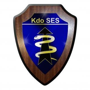 Wappenschild / Wandschild - Kommando Schnelle Einsatzkräfte Sanitätsdienst #8981