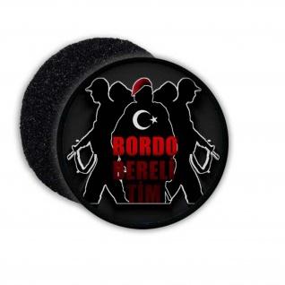 Bordo Bereli Tim Patch Army Türkei Soldaten Aufnäher Militär Türkey MAK#22815