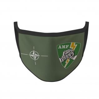 Mundmaske AMF Abzeichen Wappen Emblem Einheit Truppe Bundeswehr #35466