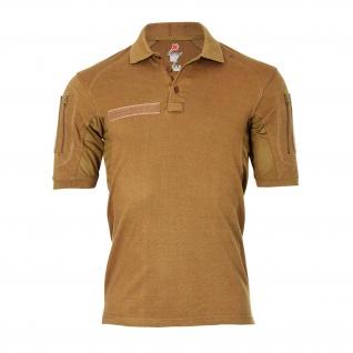 Tactical Poloshirt ALFA sand Tropen Hemd Taktisch ISAF RS Auslandseinsatz #18792