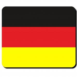 Deutschland Flagge Fahne Land BRD Schwarz Rot Gold Mauspad #16512
