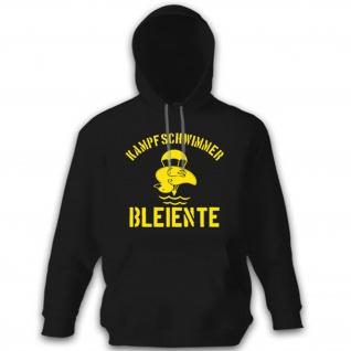 Kampfschwimmer Bleiente Ente Taucher Schwimmer Sport Bw - Hoodie #11296