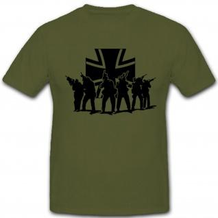 Spezial Einheiten Bundeswehr Einheit Balkenkreuz T Shirt #2624
