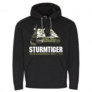 Sturmtiger Sturmpanzer VI Tiger Panzer Sturmmörser Gerät 817 Hoodie #17675