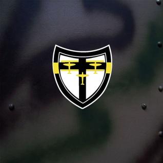 Aufkleber/Sticker Jg27 Wappen Jagdgeschwader 27 Luftwaffe 5x5cm A666