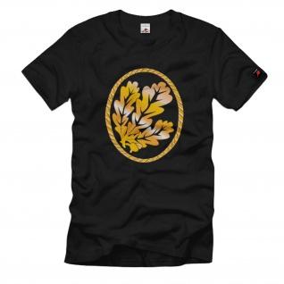 Barettabzeichen Jäger Truppe Eichenlaub Abzeichen Wappen - T Shirt #1344