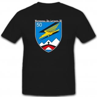 Militär Waffenschule Luftwaffe Waslw 50 Bundeswehr T Shirt #2603